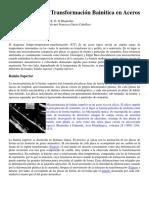 jitorres_La Transformación Bainitica en Aceros, Guia