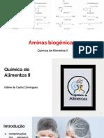 Aminas biogênicas