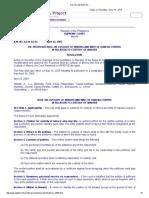 Custody of Minors and Writ of Habeas Corpus (AM No. 03-04-04-SC)