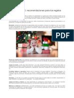 TDAH y Navidad recomendaciones para los regalos