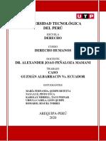 CASO GUZMAN - TOA2 DERECHOS HUMANOS