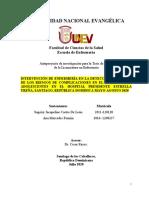 RIESGOS Y COMPLICACIONES EMBARAZO ADOLESCENTE
