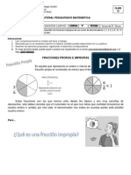Clase de Fracciones