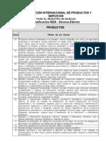 Clasificacion Internacional de Niza Novena Edicion