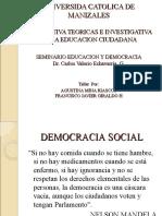 PERSPECTIVA TEORICAS E INVESTIGATIVA DE LA EDUCACION CIUDADANA