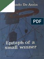 Machado de Assis, J. M. - Epitaph of a Small Winner (Noonday, 1952)