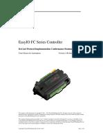 EasyIO-FC20-BACnet-PICS