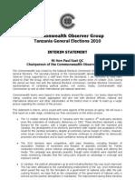Interim Statement Final Tanzania