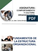 HOY   LA ORGANIZACION - DISEÑO ORGANIZACIONAL - copia.pptx