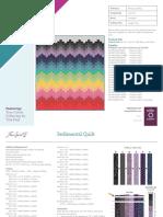 Sedimental quilt, Tula Pink