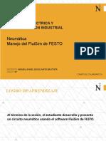 Sesión 15 Ing Eléctrica y Automa - Neumática - Manejo FluiSim