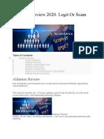 Aldamax Review - Scam or Legit