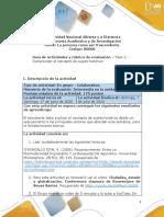 Guía de actividades y rúbrica de evaluación - Unidad 1 - Fase 2 - Comprender el concepto de sujeto histórico-1 (1)