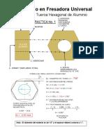 Práctica 1 Tuerca Hexagonal