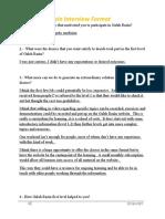 Interview format 1 James Philips