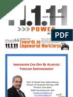 Innovation Through Empowerment(MWS.klcc.11.1.11)