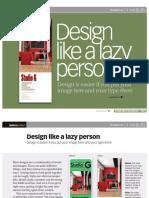 BA0671 Design Like a Lazy Person