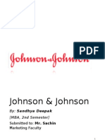 Marketing JnJ STP Sandhya