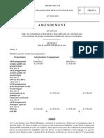 Amendements du groupe CRCE au troisième projet de loi de finances rectificative pour 2020