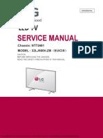 Service Manual 32LJ500V