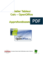 Cours Calc-OPEN OFFICE