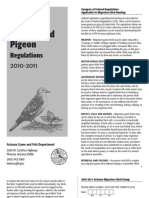 2010 - 2011 Arizona Dove and Band-Tailed Pigeon Brochure
