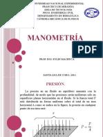 Manometría