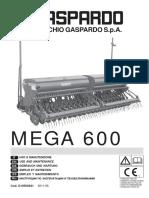 Operation Manual MEGA 600 (2011-06^G19502841^IT-EN-DE-FR-ES-RU)