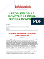 Prometeo - I problemi della moneta e la prima guerra mondiale.docx