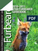 2010-2011 Utah Furbearer Guidebook