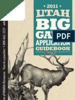 2011 Utah Big Game Guidebook