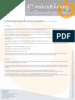 Conditions générales de vente et de garantie