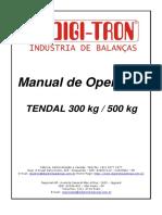 MANUAL OPERAÇÃO BALANÇA TENDAL
