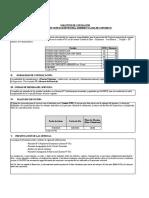 Solicitud de Cotizacion - Cunetas rev02
