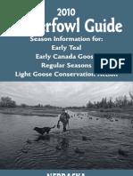 2010 Nebraska Waterfowl Guide
