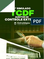 simulado técnico controle tcdf