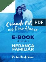 E BOOK - AULA 1 - HERANÇA FAMILIAR - CRIANDO FILHOS NOS DIAS ATUAIS