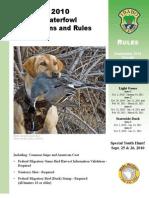 2010 Idaho Waterfowl Brochure