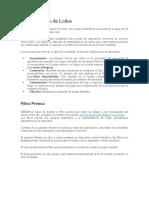 Deshidratación Filtro prensa