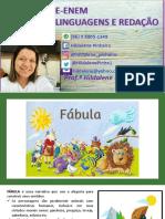 ESTUDO DO GÊNERO FÁBULA