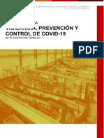 Backus - Plan para la Vigilancia, Prevención y Control de Covid-19