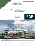 PROPUESTA DE UN PARQUE CON MOBILIARIO NO CONVENCIONAL EN EL SECTOR DE SANTA EDELMIRA – VÍCTOR LARCO HERRERA-2019