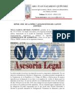 Demanda Michael Villa CONSIGNACION DE ALIMENTOS