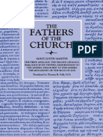[Fathers of the Church Patristic Series] Justin Martyr - The First Apology