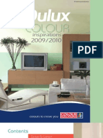 Dulux Colour Inspirations 2009
