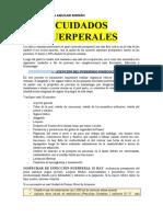 CUIDADOS PUERPERALES