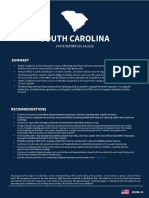Governor's Report 14 July 20 with South Carolina excerpt obtained by the Center for Public Integrity