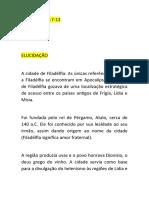 APOCALIPSE 3.7-13 - SERMÃO IPW - 28.06