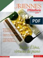 Les Épicuriennes (hors série 2006-02) • Didier Éléna, virtuose du piano (cooking & tableware, recipes)