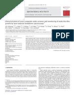 Characterization of nano-composite oxide ceramics and monitoring of oxide thin film